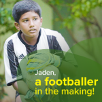 Here's how BYJU'S student Jaden balances studies and football