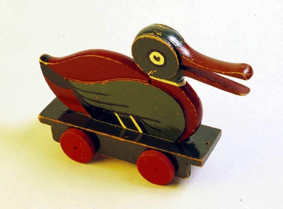 First version LEGO wooden duck