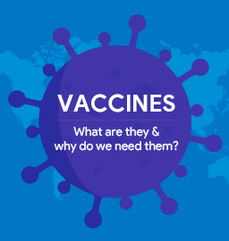 Vaccines – What are they and why do we need them?