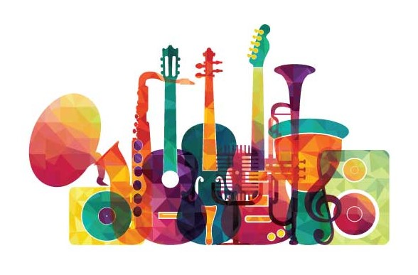 Genre is also sometimes defined by certain key instruments