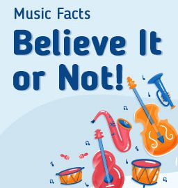 Trivia of the month: 10 facts about music that will astound you!