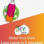 How to make a Lava Lamp with Oil and Water!