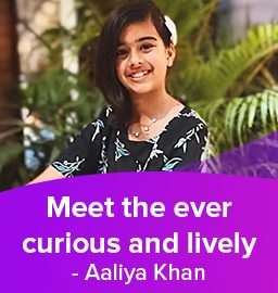 A martial artist with a flair for chemistry – Aaliya Khan
