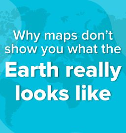 What is wrong with all the maps of the world?