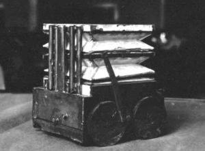 Model of Daniel Hess's 'Carpet Sweeper'