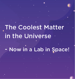 Featured image: The coolest matter in the universe - now in a lab in space