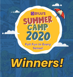 BYJU'S Summer Camp 2020 Contest Winners!