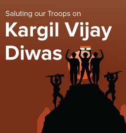 Celebrating 21 years of victory in the Kargil War