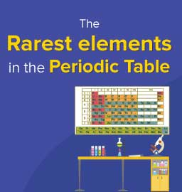 The 5 Rarest Elements on Earth