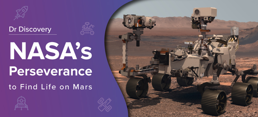 blog banner - NASA's Perseverance to find life on Mars