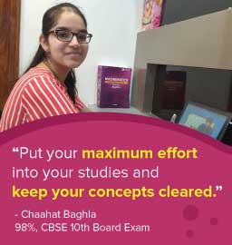District Topper Chaahat Baghla reveals her secret study tips!