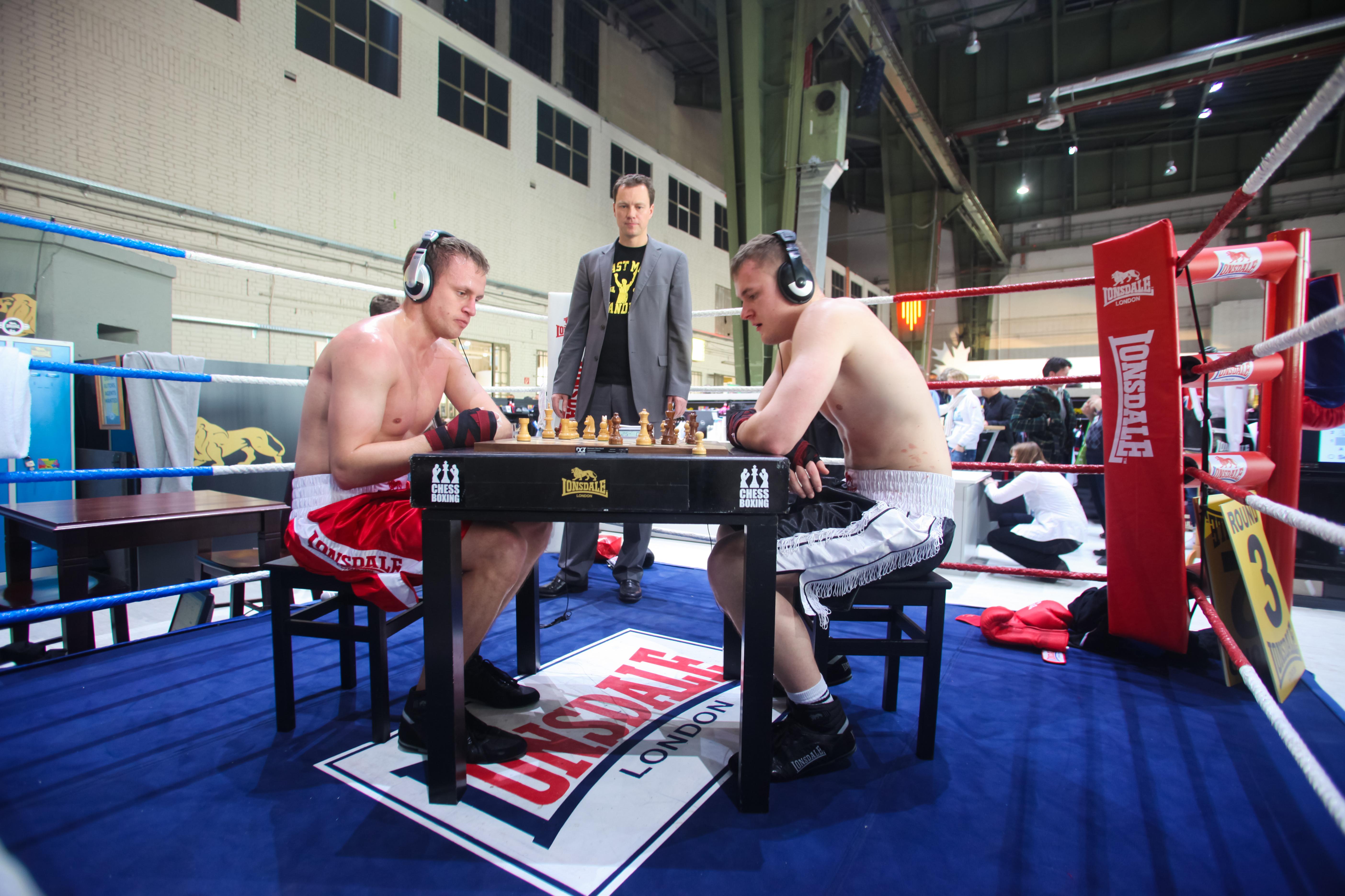 Chessboxing tournament