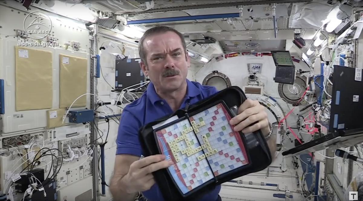 Scrabble in space