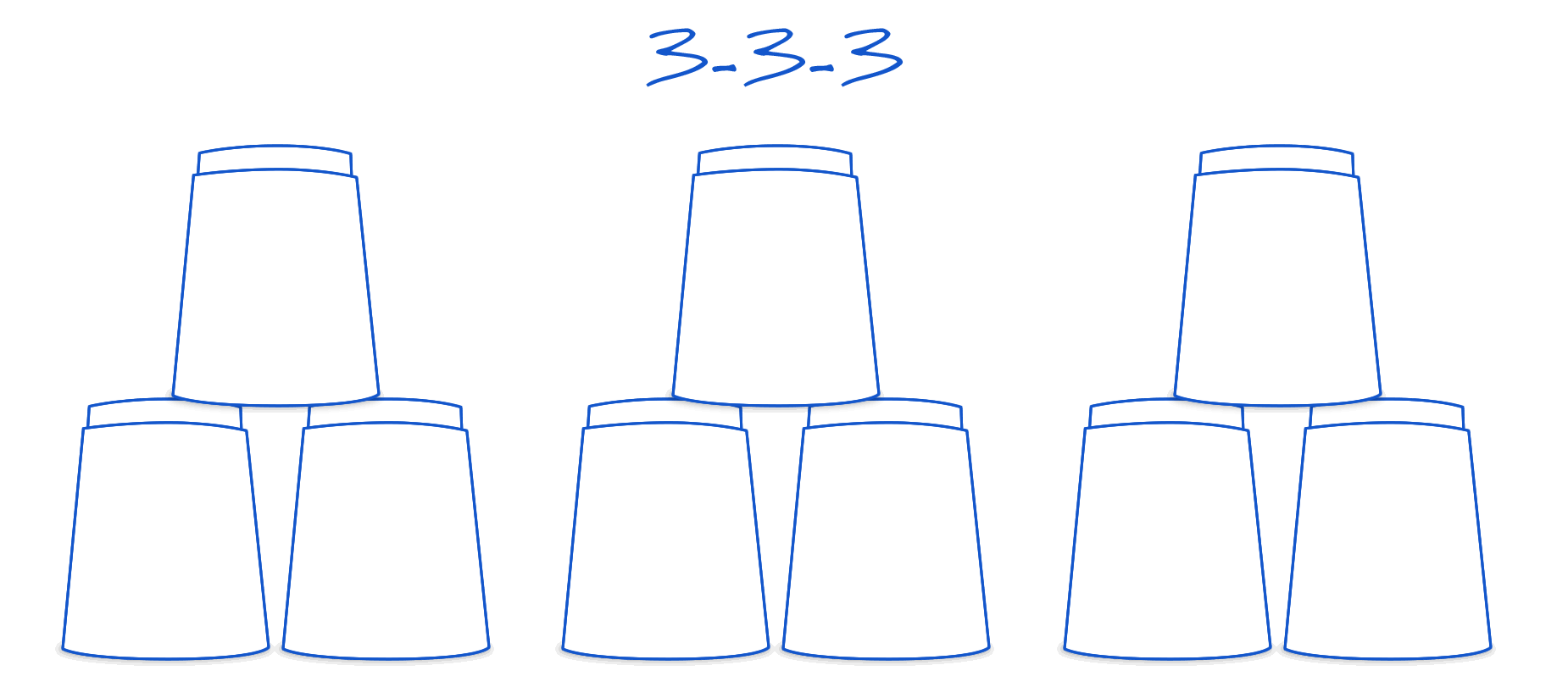 3-3-3 formation