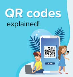 Decoding the message inside QR codes