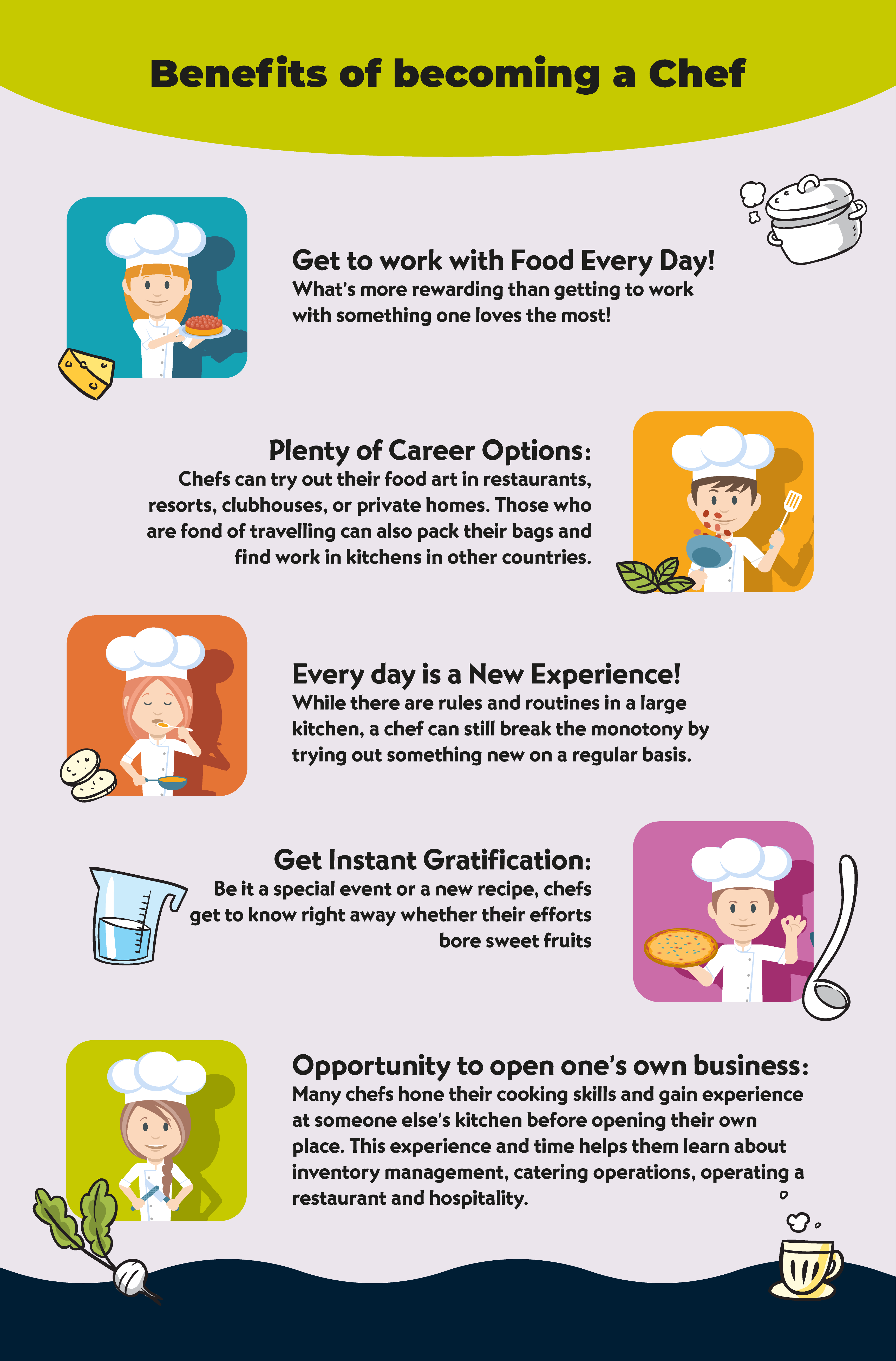 Why become a chef?