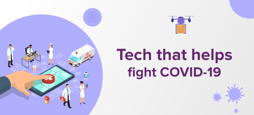 Tech used in COVID -19