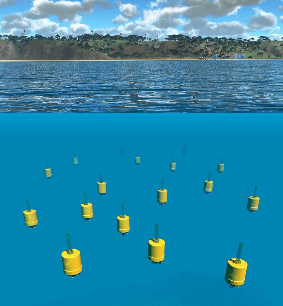 Jules Jaffe designed Mini-Autonomous Underwater Explorers (M-AUEs) prototype.