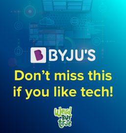 """""""Tech""""nically True! Weird but true facts about technology!"""