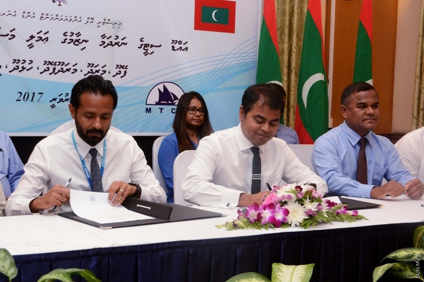 Companies contracted to build sanitation systems in 5 Addu City islands