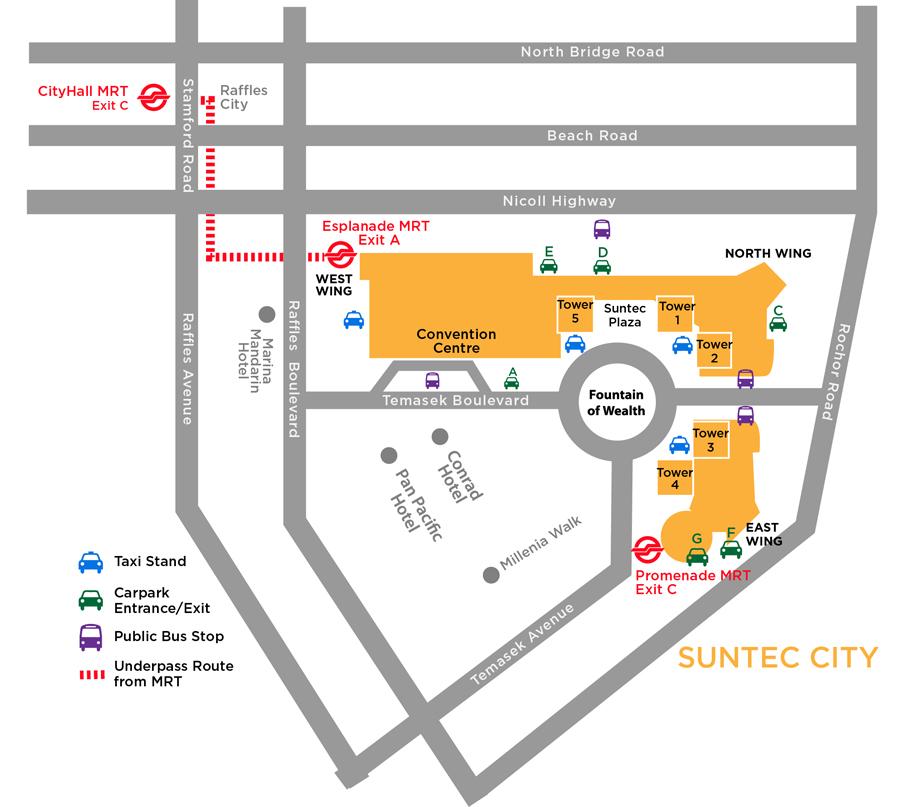 Suntec City Tower  Car Park