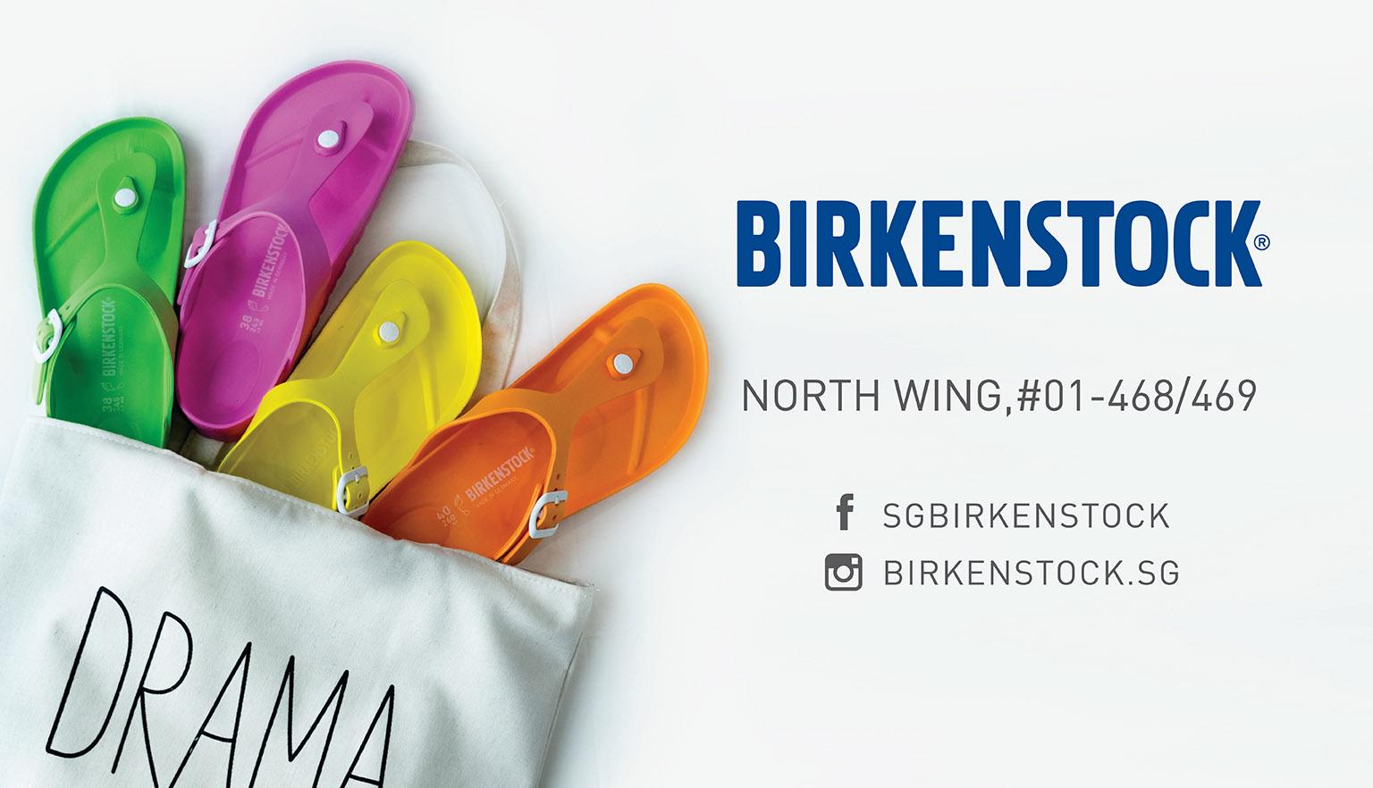 6ff49fb3694 Birkenstock s new neon EVA sandals! - Suntec City