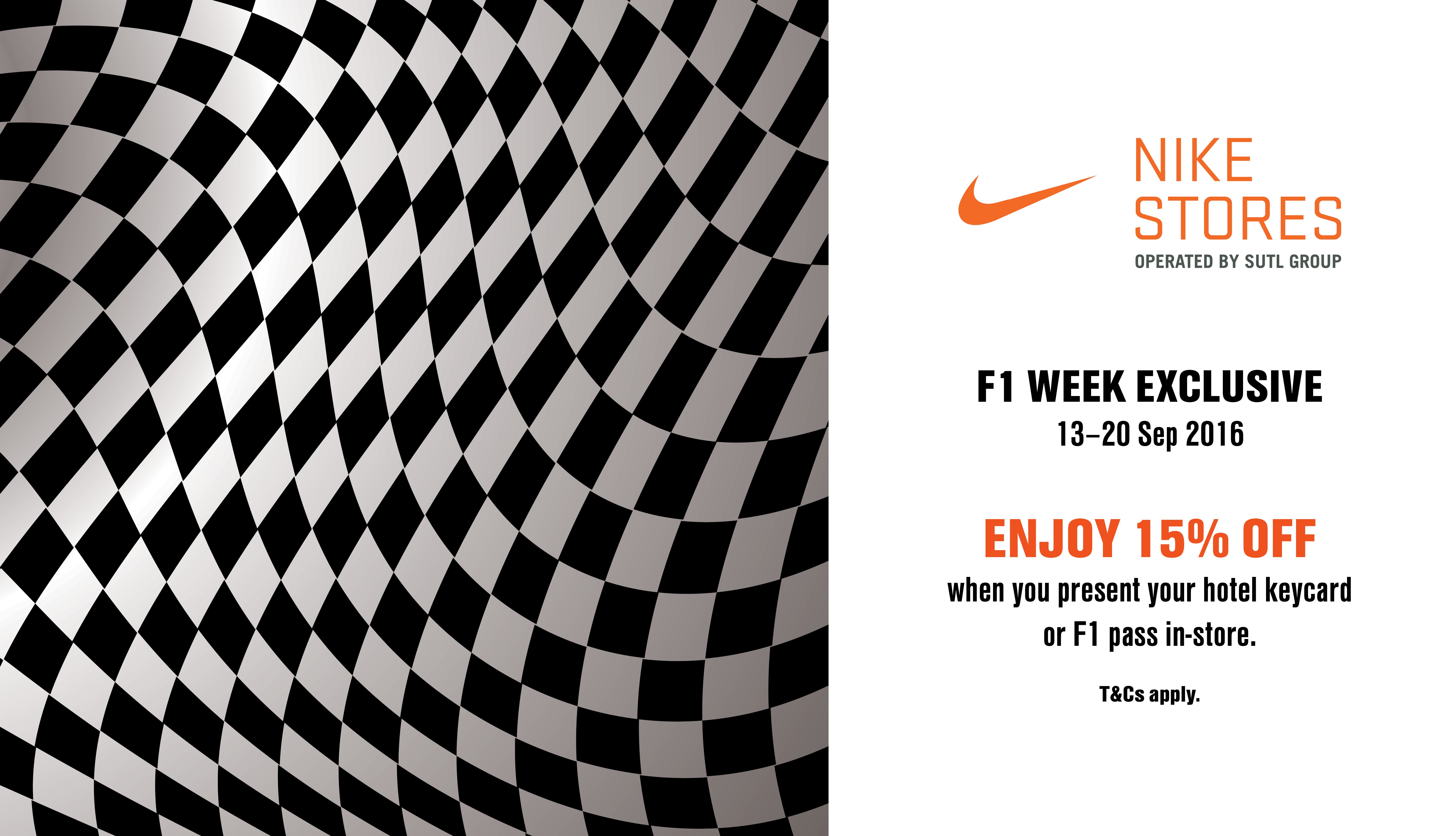95ec3eb131addc NIKE F1 Week Exclusive - Suntec City