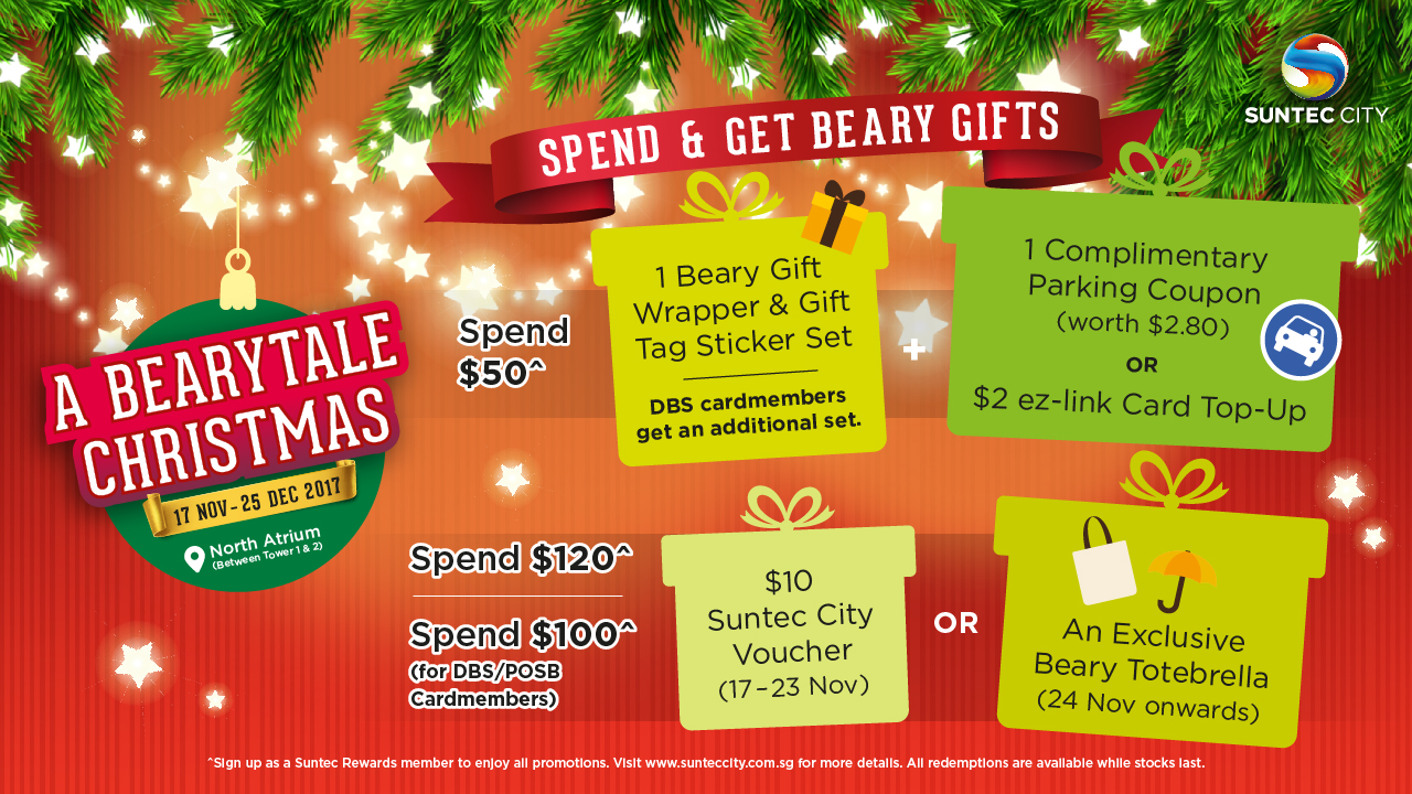 Spend and get beary gifts