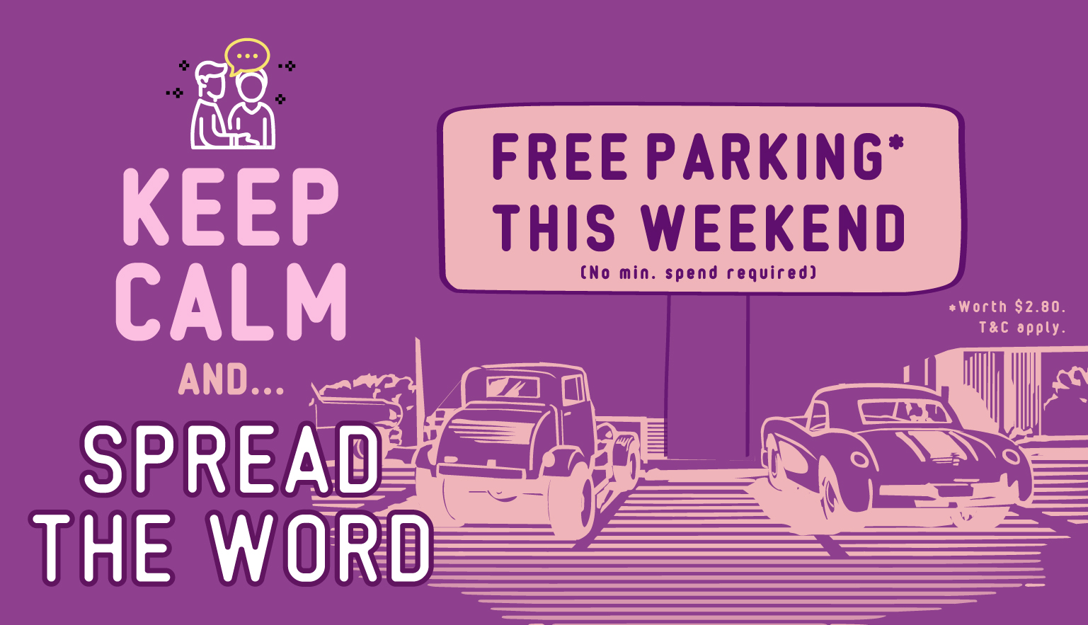 Free parking this weekend