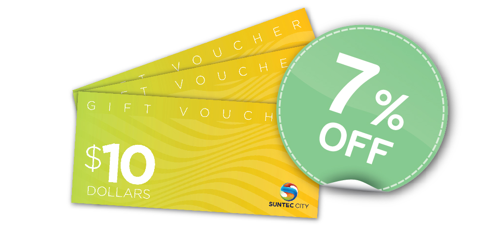 7% Off Voucher Sale