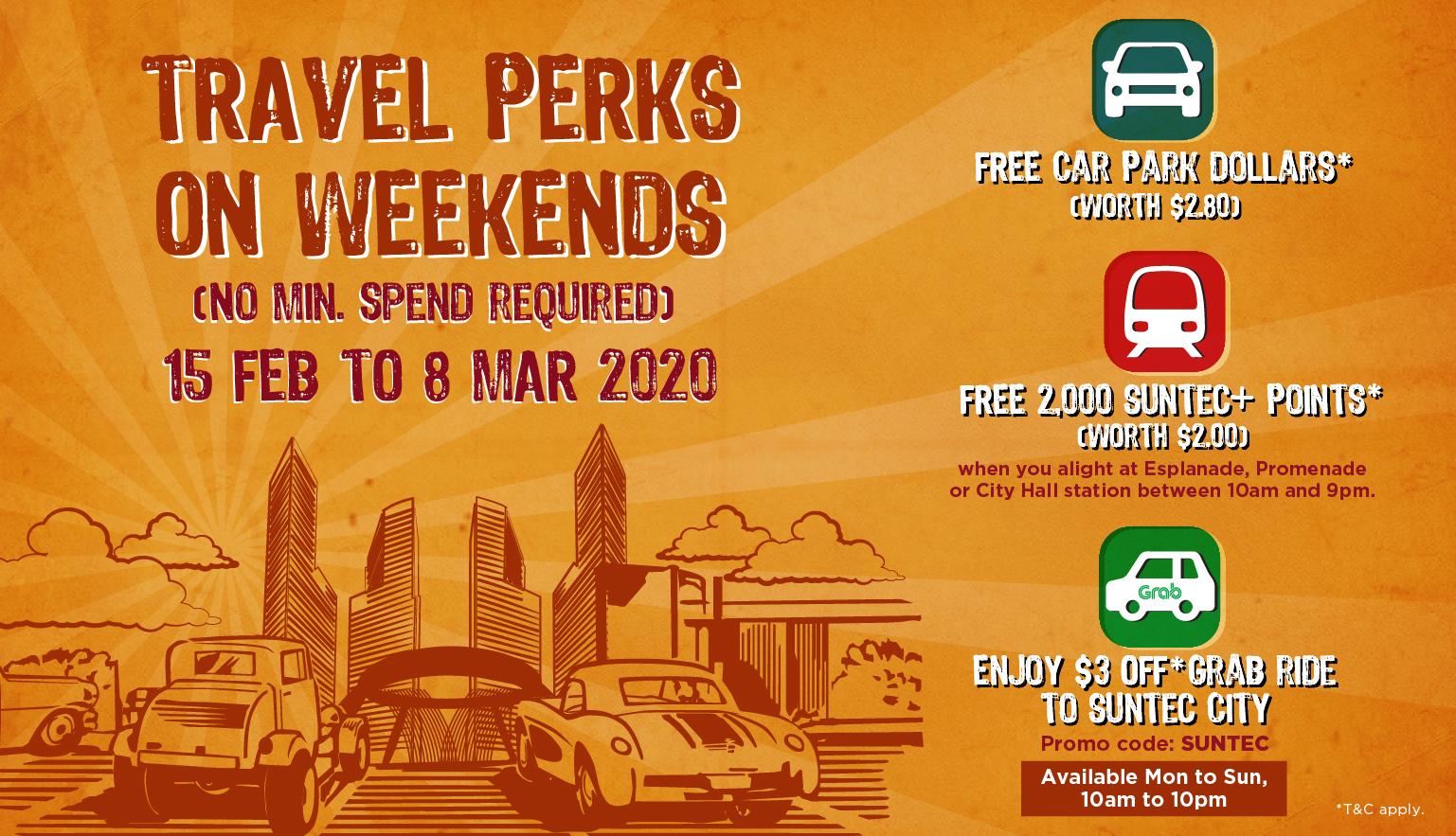weekend travel perks