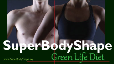 SuperBodyShape Green Life Diet TLS Weight Management Weight Loss. Image Size:400x225px