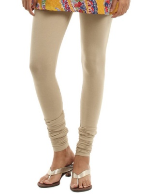 Women Beige Leggings