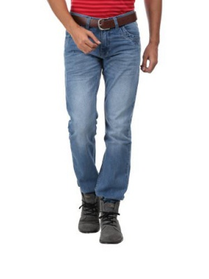 Canopus Blue shaded Men Jeans
