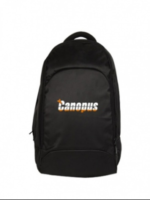 Canopus Executive Laptop Backpack(Black)