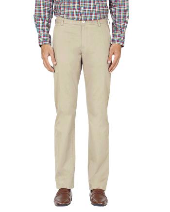 Yepvi Beige Trouser For Men