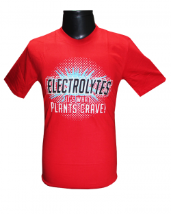 Canopus Men Red(Electrolytes) Printed T-Shirt