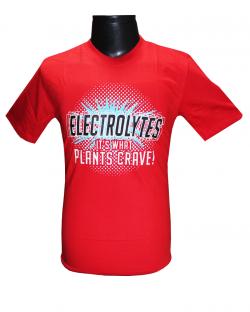 Canopus Men Red(Electrolytes) Printed T-Shirt