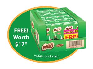 Post-It Scotch Milo Promotion