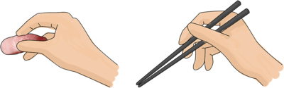 Hand Or Chopsticks