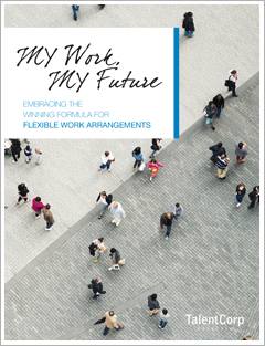 MY Work, MY Future:  Embracing the Winning Formula for Flexible Work Arrangements