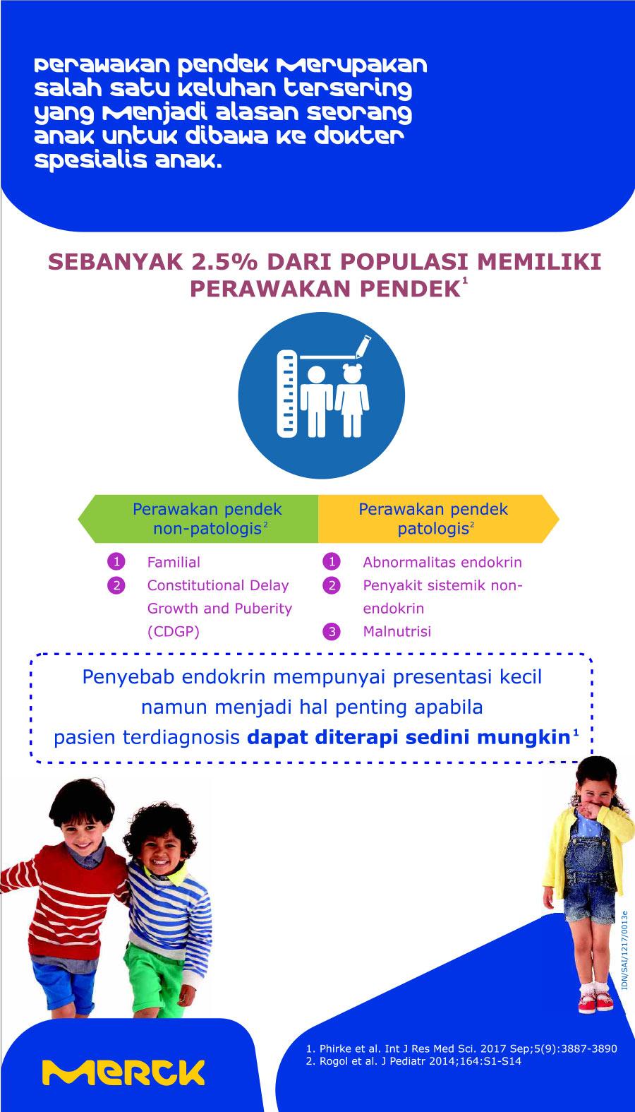 Kenali salah satu penyebab anak pendek, bisa jadi akibat gangguan hormon!