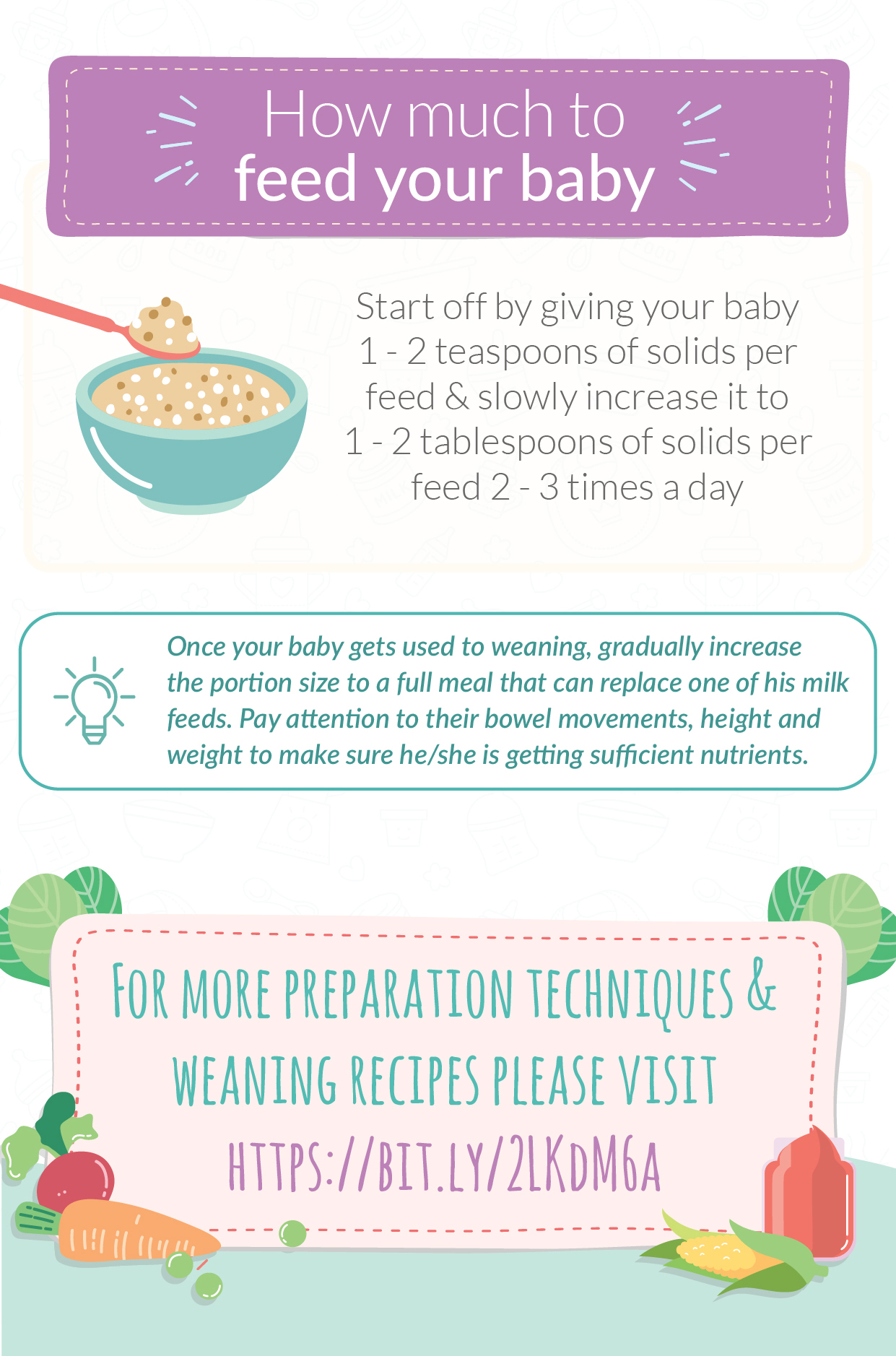 Top baby weaning tips