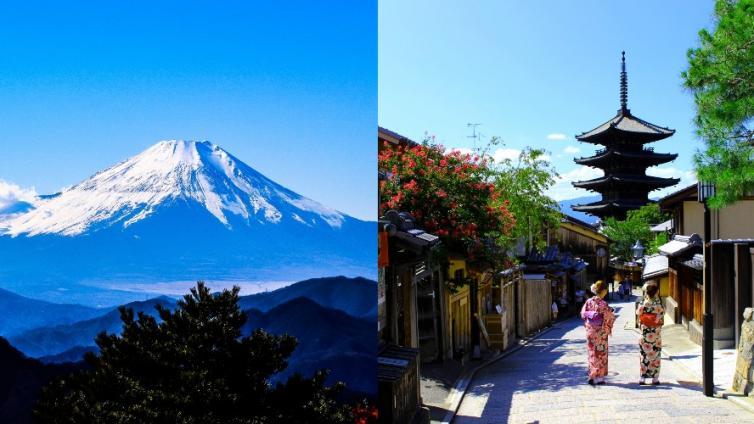 < Disney/Mt. Fuji/Kyoto > 5Days Tokyo and Osaka Package