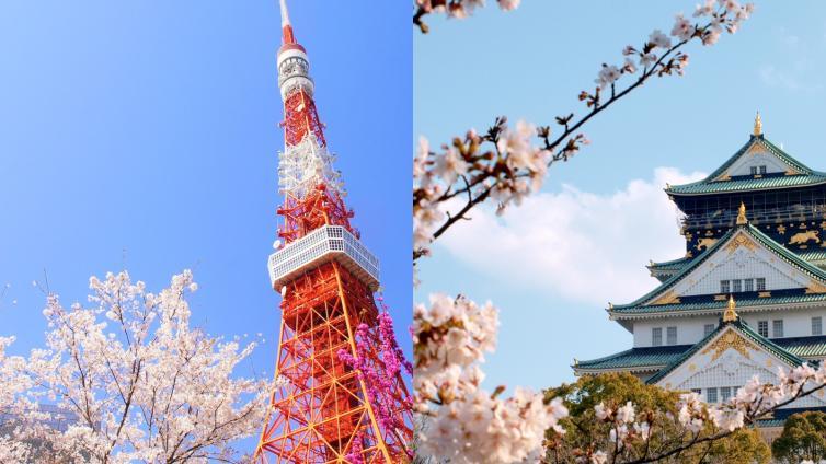 〈Tokyo/Osaka〉5 Days 4 Nights Free and Easy(★★★ / 3 stars)