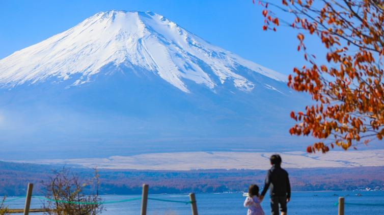 〈1Day Tour〉Mt. Fuji Autumn Leaf Viewing Tour with Lunch