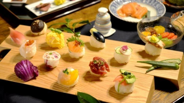 〈About 1.5 hours Activity〉Hand-made Temari sushi experience at Japanese style Machiya