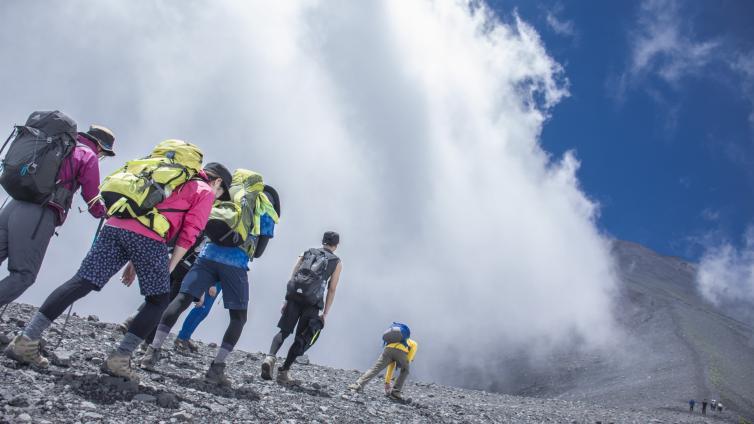 〈2Days Tour〉Mt. Fuji Climbing Tour 2019 [5 items reantal]