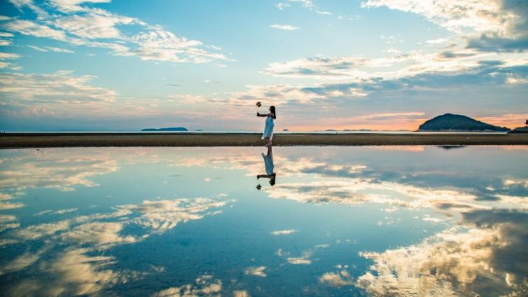 "〈1Day Tour〉Known as the ""Mirror of the Sky"", Visit the Japan Uyuni Salt Lake ""Chichibu ga Hama"" and Handmade udon experience"