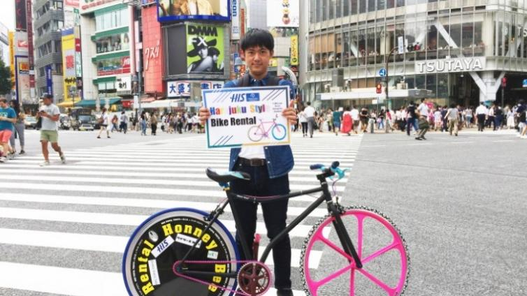 〈Up to about 8 hours Activity〉Rent a Colorful Kawaii Bike in Harajuku!!